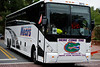The Florida Gators walk into the stadium for their game versus the Eastern Michigan Eagles.