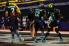 Team Armour WR Christian Kirk and Team Armour WR Cordell Broadus celebrate a touchdown.  2015 Under Armour All-America High School Football Game.  January 2nd, 2015. Gator Country photo by David Bowie.