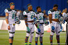 Captains for Team Highlight watch the coin toss.  2015 Under Armour All-America High School Football Game.  January 2nd, 2015. Gator Country photo by David Bowie.