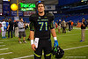 Team Armour OG Tyler Jordan poses for the camera after the game.  2015 Under Armour All-America High School Football Game.  January 2nd, 2015. Gator Country photo by David Bowie.