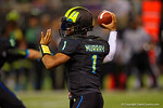 Team Armour QB Kyler Murray throws downfield.  2015 Under Armour All-America High School Football Game.  January 2nd, 2015. Gator Country photo by David Bowie.