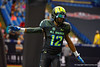 Team Armour WR Christian Kirk runs out during player introductions.  2015 Under Armour All-America High School Football Game.  January 2nd, 2015. Gator Country photo by David Bowie.