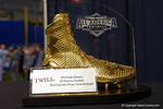 The Under Armour MVP trophy for MVP of Team Highlight.  2015 Under Armour All-America High School Football Game.  January 2nd, 2015. Gator Country photo by David Bowie.