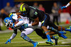 Team Highlight WR Terry Godwin is tackled by Team Armour ILB John Houston Jr.  2015 Under Armour All-America High School Football Game.  January 2nd, 2015. Gator Country photo by David Bowie.