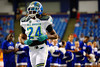 Team Highlight RB Ronald Jones II runs out during player introductions.  2015 Under Armour All-America High School Football Game.  January 2nd, 2015. Gator Country photo by David Bowie.