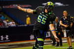 Team Armour OC Brian Chaffin runs out during player introductions.  2015 Under Armour All-America High School Football Game.  January 2nd, 2015. Gator Country photo by David Bowie.