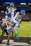 Team Highlight celebrates another touchdown.  2015 Under Armour All-America High School Football Game.  January 2nd, 2015. Gator Country photo by David Bowie.