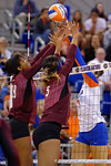 Florida Gators Volleyball vs Mississippi State Bulldogs.  October 26th, 2014. Gator Country photo by David Bowie.