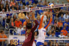 The Florida Gators volleyball team cruises in three straight sets over the Mississippi State Bulldogs.