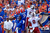 The South Carolina Gamecocks outlast the Florida Gators 23-20 in overtime.