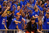 The Rowdy Reptiles welcome the Gators onto the court.  Florida Gators vs Tennessee Vols.  February 28th, 2015. Gator Country photo by David Bowie.