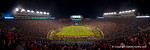 An overview of Doak S. Campbell Stadium during the fourth quarter.  Florida Gators vs FSU Seminoles.  November 22th, 2014. Gator Country photo by David Bowie.
