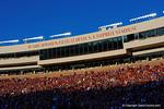 Bobby Bowden Field at Doak S. Campbell Stadium.  Florida Gators vs FSU Seminoles.  November 22th, 2014. Gator Country photo by David Bowie.