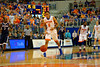 Florida Gators guard Kasey Hill reacts to a foul call in the first half.  Florida Gators vs UCONN Huskies.  January 3rd, 2015. Gator Country photo by David Bowie.