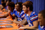 Florida Gators tight end Ryan Ferguson during the 2015 Florida Gators Fan Day.  August 15th, 2015.  Gator Country Photo by David Bowie.