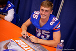 Florida Gators punter Jack Spicer during the 2015 Florida Gators Fan Day.  August 15th, 2015.  Gator Country Photo by David Bowie.