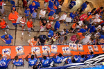 A shot from above the Florida Gators defensive backs table during the 2015 Florida Gators Fan Day.  August 15th, 2015.  Gator Country Photo by David Bowie.