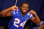 Florida Gators defensive back Brian Poole poses for the camera during the 2015 Florida Gators Fan Day.  August 15th, 2015.  Gator Country Photo by David Bowie.