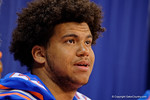 The Florida Gators sign posters and take photos with the fans during the 2015 Florida Gators Fan Day.  August 15th, 2015.  Gator Country Photo by David Bowie.