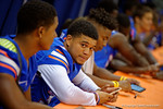 Florida Gators defensive back Jalen Tabor during the 2015 Florida Gators Fan Day.  August 15th, 2015.  Gator Country Photo by David Bowie.