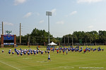 An overview of the Dizney Lacrosse Field as the Gators continue fall practice.  August 8th, 2015.  Gator Country Photo.