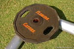 A Florida Gators weight as the Gators continue fall practice.  August 8th, 2015.  Gator Country Photo.