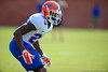 Florida Gators defensive back J.C. Jackson working through spring practice drills.  Florida Gators Third Spring Practice.  March 20th, 2016. Gator Country photo by David Bowie.