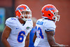 Florida Gators defensive backs Quincey Wilson and J.C. Jackson participate in drills during the third spring practice.  Florida Gators Third Spring Practice.  March 20th, 2016. Gator Country photo by David Bowie.