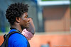 Florida Gators safety Spencer Perry watches on as the Gators run through their third spring practice.  Florida Gators Third Spring Practice.  March 20th, 2016. Gator Country photo by David Bowie.