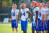Florida Gators defensive back Brian Poole waits for his turn in a spring football practice drill.  Florida Gators Third Spring Practice.  March 20th, 2016. Gator Country photo by David Bowie.