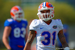 Florida Gators defensive back Jalen Tabor working through spring practice drills.  Florida Gators Third Spring Practice.  March 20th, 2016. Gator Country photo by David Bowie.