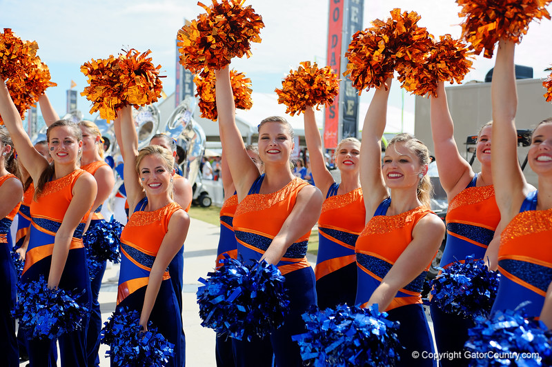 Florida Gators Georgia Bulldogs Gator Walk 2015
