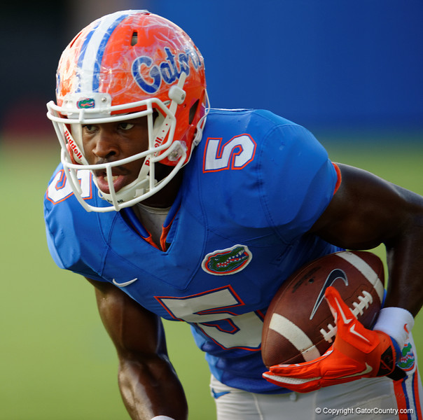 Florida Gators wide receiver Ahmad Fulwood during the Florida Gators open practice.  August 27th, 2015.  Gator Country Photo by David Bowie.