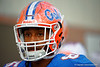 Florida Gators wide receiver Chris Thompson walks up to the practice field for fall practice.  August 27th, 2015.  Gator Country Photo by David Bowie.