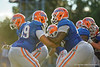 Florida Gators offensvie lineman Nick Davis and Florida Gators offensive lineman David Sharpe during the Florida Gators open practice.  August 27th, 2015.  Gator Country Photo by David Bowie.