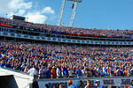 Gator fans cheer on before kickoff as the Gators spook the Georgia Bulldogs with a 27-3 win at EverBank Field.  October 31st, 2015. Gator Country photo by David Bowie.