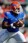 Florida Gators quarterback Treon Harris during pre-game drills as the Gators spook the Georgia Bulldogs with a 27-3 win at EverBank Field.  October 31st, 2015. Gator Country photo by David Bowie.