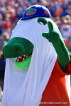 Albert getting into the spirit of Halloween as the Gators spook the Georgia Bulldogs with a 27-3 win at EverBank Field.  October 31st, 2015. Gator Country photo by David Bowie.