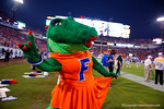 Alberta poses for the camera during the second half, as the Gators spook the Georgia Bulldogs with a 27-3 win at EverBank Field.  October 31st, 2015. Gator Country photo by David Bowie.