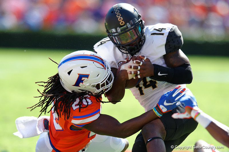 Florida Gators Gator Football Vanderbilt Commodores 2015