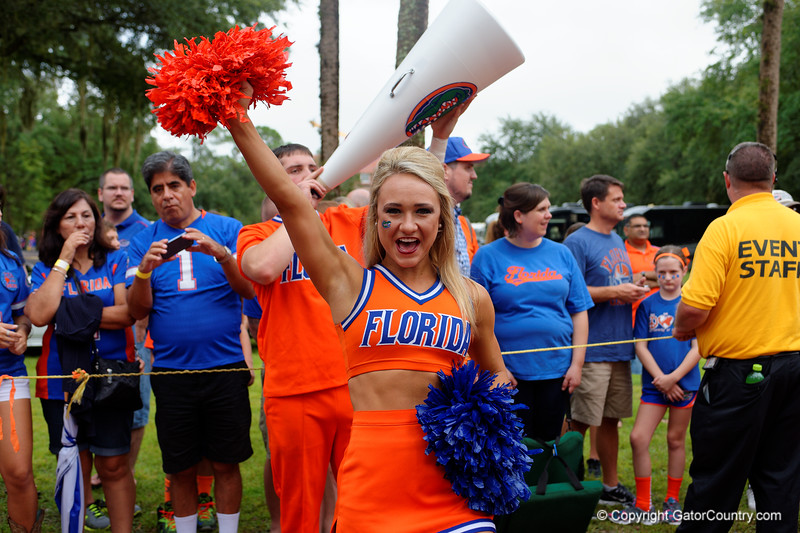 Florida Gators Florida Football Gator Walk East Carolina Pirates