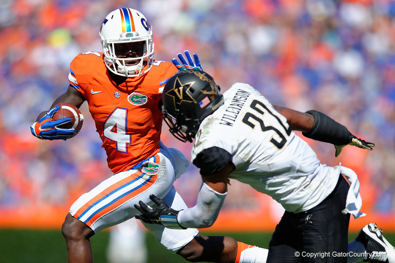 Florida Gators Gator Walk Vanderbilt Commodores 2015