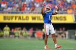Florida Gators defensive back Vernon Hargreaves, III during the first half as the Univeristy of Florida Gators and the University of Michigan Wolverines square off in the 2016 Buffalo Wild Wings Citrus Bowl.  Orlando, Fl.  January 1st, 2015. Gator Country photo by David Bowie.