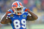 Florida Gators wide receiver Alvin Bailey during pre-game warm ups as the Univeristy of Florida Gators and the University of Michigan Wolverines square off in the 2016 Buffalo Wild Wings Citrus Bowl.  Orlando, Fl.  January 1st, 2015. Gator Country photo by David Bowie.