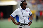 Florida Gators associate head coach Randy Shannon during the first half as the Univeristy of Florida Gators and the University of Michigan Wolverines square off in the 2016 Buffalo Wild Wings Citrus Bowl.  Orlando, Fl.  January 1st, 2015. Gator Country photo by David Bowie.