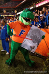 Albert shows what he thinks of the Rebels, as the Gators knock off the #3 ranked Ole Miss Rebels 38-10 at home.  Florida Gators vs Ole Miss Rebels.  October 3rd, 2015. Gator Country photo by David Bowie.