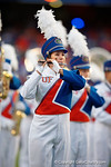 The University of Florida band performs before kickoff as the Gators knock off the #3 ranked Ole Miss Rebels 38-10 at home.  Florida Gators vs Ole Miss Rebels.  October 3rd, 2015. Gator Country photo by David Bowie.