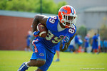 Florida Gators wide receiver Alvin Bailey with the ball after making a catch during a passing drill.  Florida Gators Spring Practice.  March 18th, 2016. Gator Country photo by David Bowie.