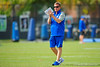 Florida Gators head coach Jim McElwain claps on as the Gators continue spring practice.  Florida Gators Spring Practice.  March 18th, 2016. Gator Country photo by David Bowie.
