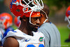 Florida Gators defensive back Marcus Maye waits for spring practice to start.  Florida Gators Spring Practice.  March 18th, 2016. Gator Country photo by David Bowie.